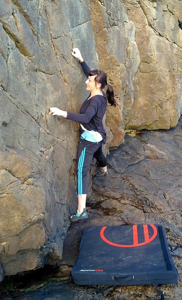 Bouldering, Howth, Co. Dublin