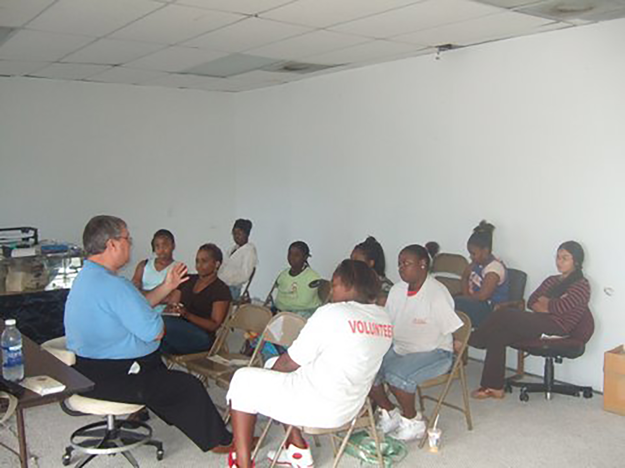Physicians & Dentist Mentoring Program- 2007 HIV Prevention Class