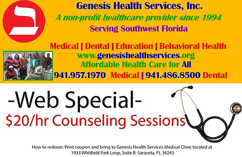 web special for counseling sessions