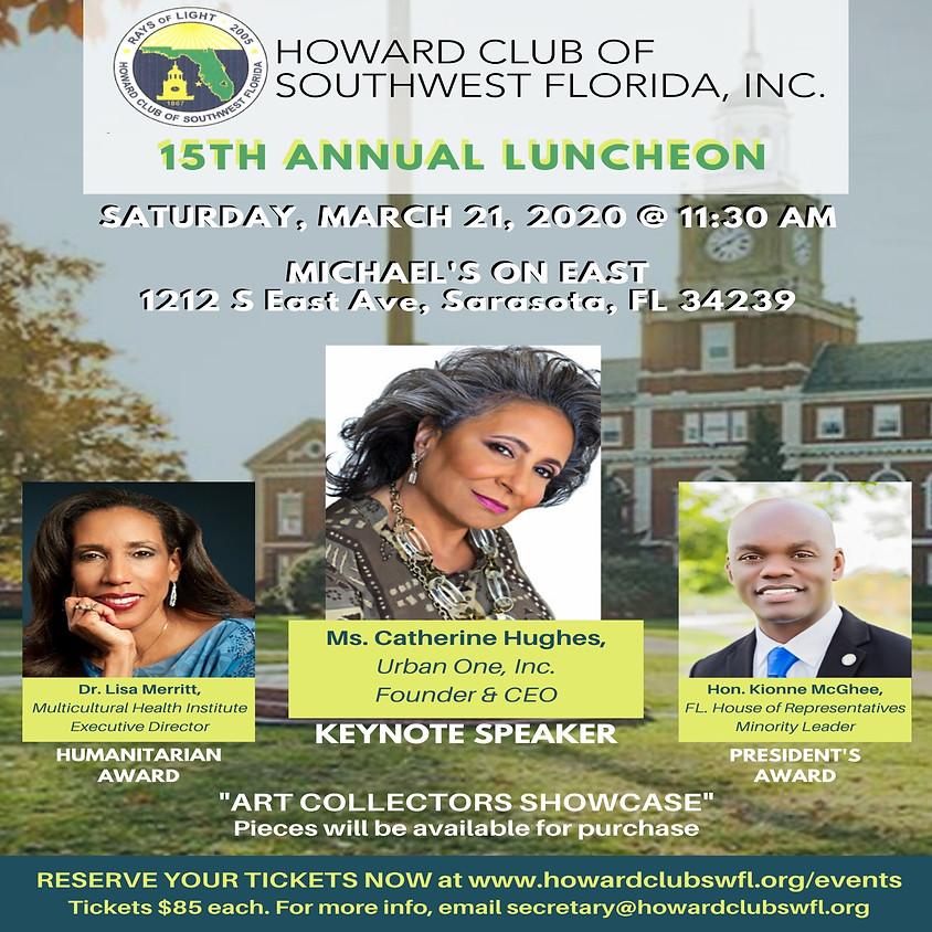 Annual Scholarship Luncheon - SOLD OUT!