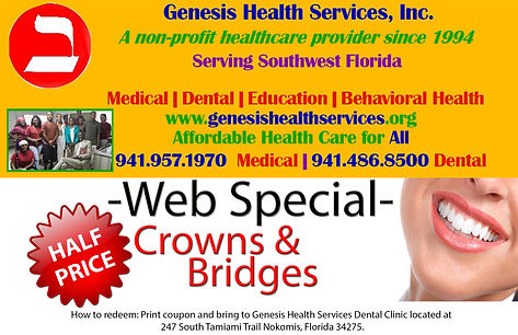 web special for crowns and bridges