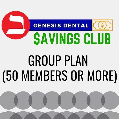 Group Plan (50 members or more)
