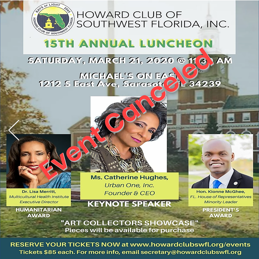 Annual Scholarship Luncheon - CANCELED