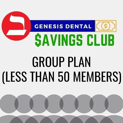 Group Plan (Less than 50 members)