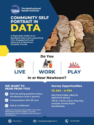 DASH* Program - Community Self Portrait in Data