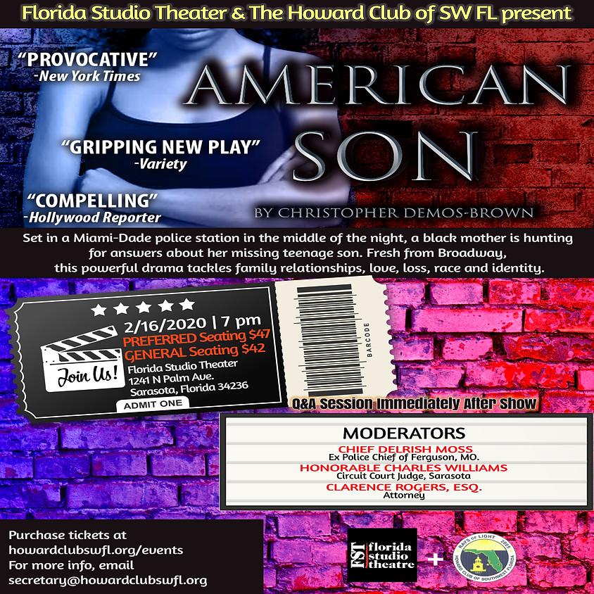 American Son Live Performance