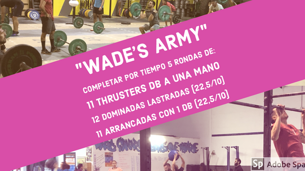 WADE'S ARMY