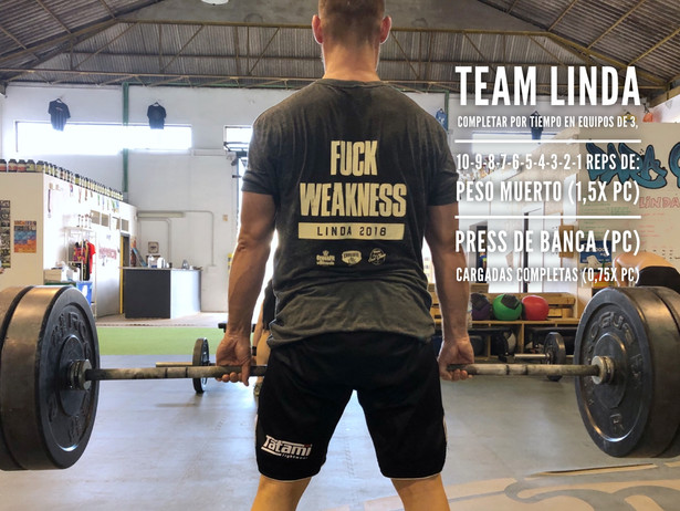 Team Linda 8/6/18