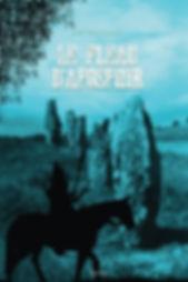 """Couverture du livre """"Une ombre plus noire que la nuit"""" """", le premier tome de la saga de Soren Dajymo de l'ecrivain José Raymond. Prix de la vague des livres en Beaujolais en 2012"""