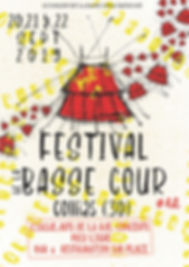 AFFICHE FESTIVAL BASSE COUR 2019 copy co
