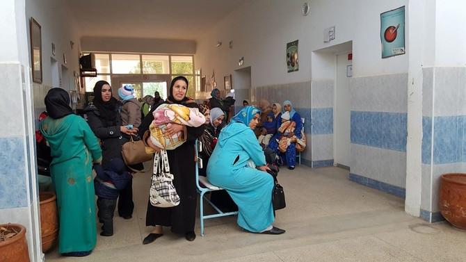 """1ère jourée Pré-CARAVANE Médicale """"Bab Elkheir""""  Ahfir 9-10 Janvier 2016"""