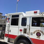 Escondido Fire Engine up close