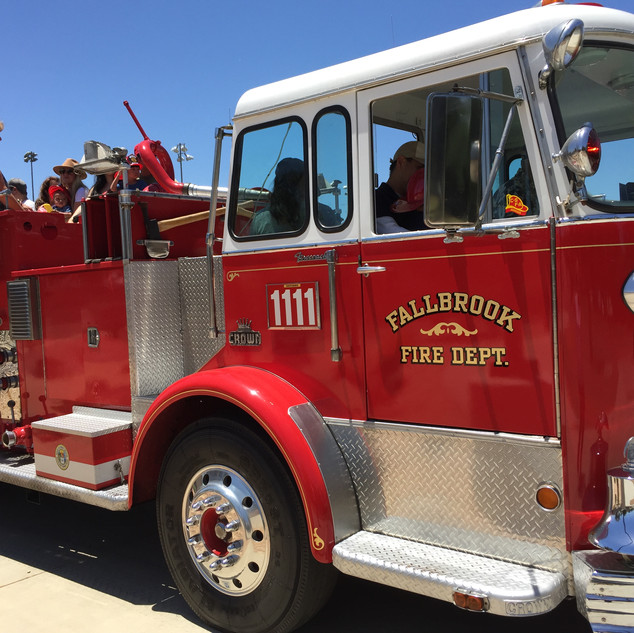 Fire Truck Ride!