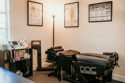 Therapy Room & Decompression Table