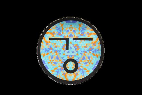 OLIO FACE STICKER - BLUE