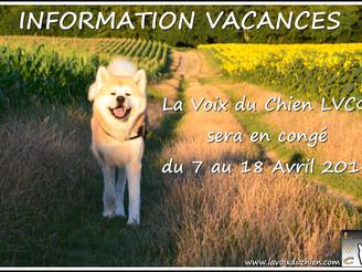 Information Vacances