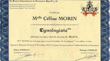 Diplômée Cynologiste™