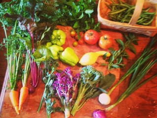 Finally - We are about to start 30 days of homegrown dining!