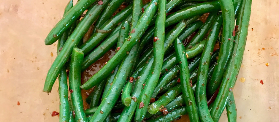 Chili Oil Green Beans