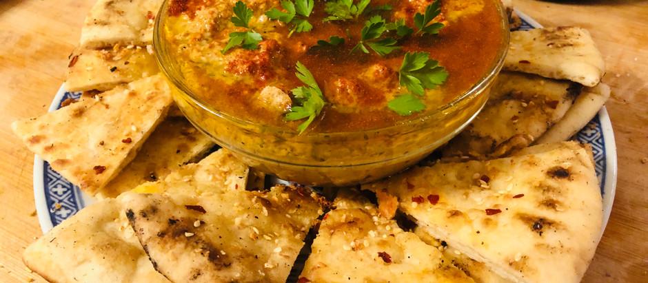 Southern Mediterranean Fusion: Baba Ganoush & Pork Kafta