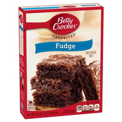 Betty Crocker Brownie Fudge Mix 16oz