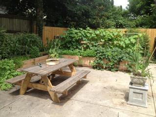 Layered gardening