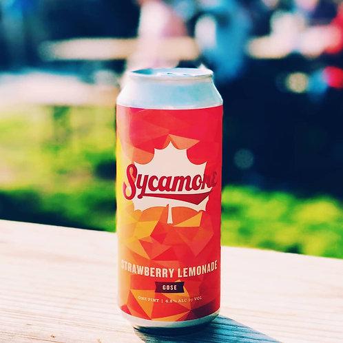 Sycamore Brewing Strawberry Lemonade Gose