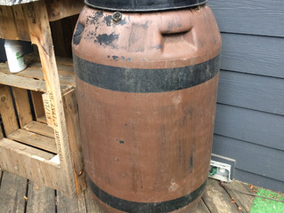 Rain Barrels - Project for Fall