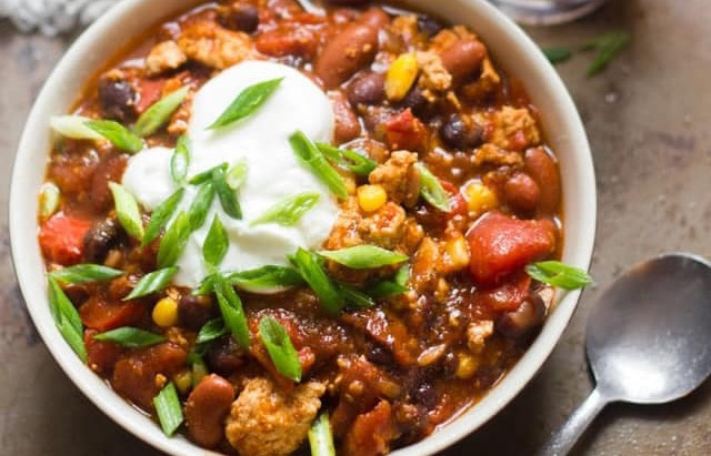 EASY CHILI (veggie OR con carne)