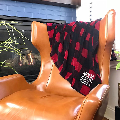 Co Store Buffalo Print Blanket