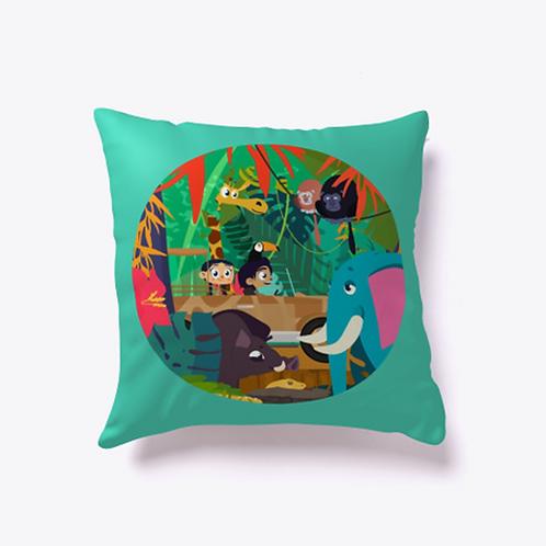 Explore the Jungle Indoor Pillow
