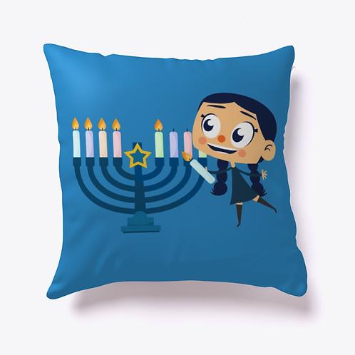 Breezy Light the Menorah Pillow