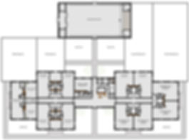Proposed floor plan for Fidalgo Christian Childcare.