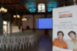 Mas Rières, grande salle de réception pour les séminaires d'entreprises
