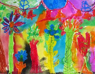 Vistara Primary School Artwork