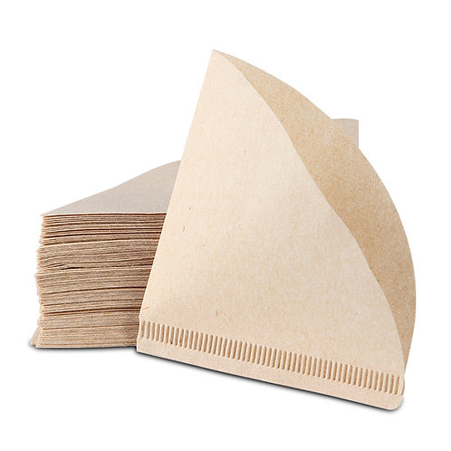 V60 Coffee Filter Papers Unbleached Original Wooden Drip Paper Cone Shape