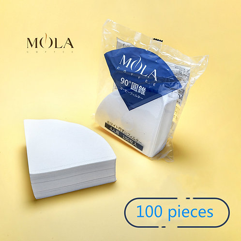 Japan Sanyo Mola V60 Cone Dripper 4 Cup Coffee Drip Filter Coffee Filter