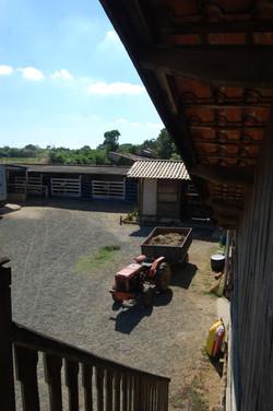 Rancho Império - páteo de manejo