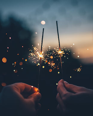 buy sparklers in Lake Como, Italy
