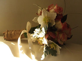 Lae Garda wedding florist, simple wedding buoquet