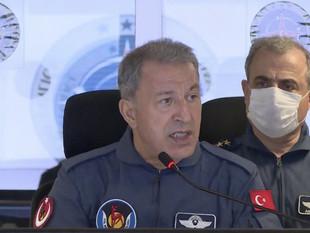Milli Savunma Bakanı Akar'dan Doğu Akdeniz mesajı: Geldikleri gibi giderler