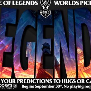 League of Legends Worlds Pick'em 2020