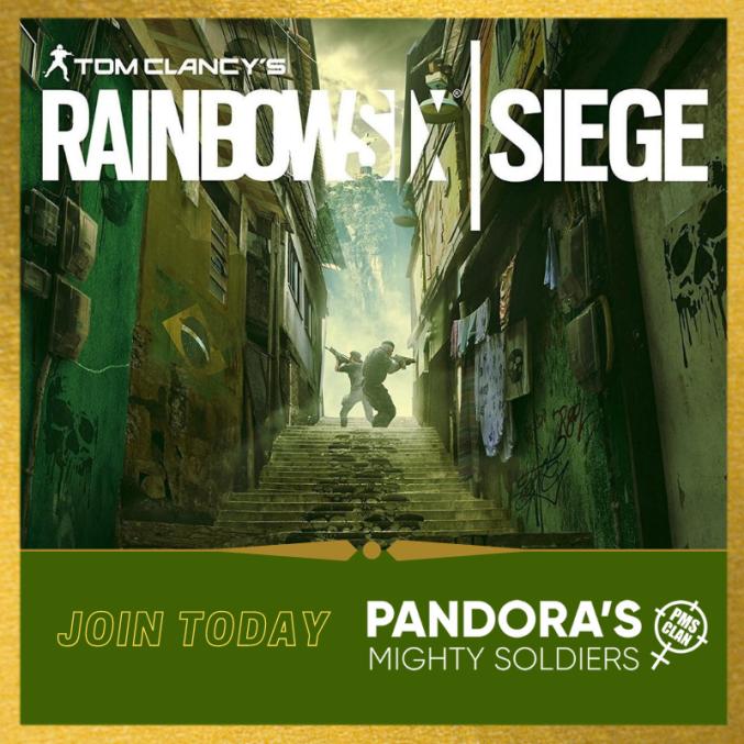 Rainbow Six Siege: Join Today!