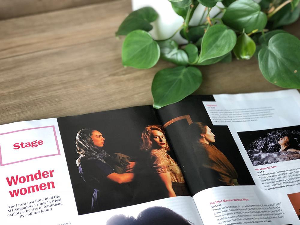 Emma Laishram, Anna Mazurik, Jackie Block featured in Time Out Magazine