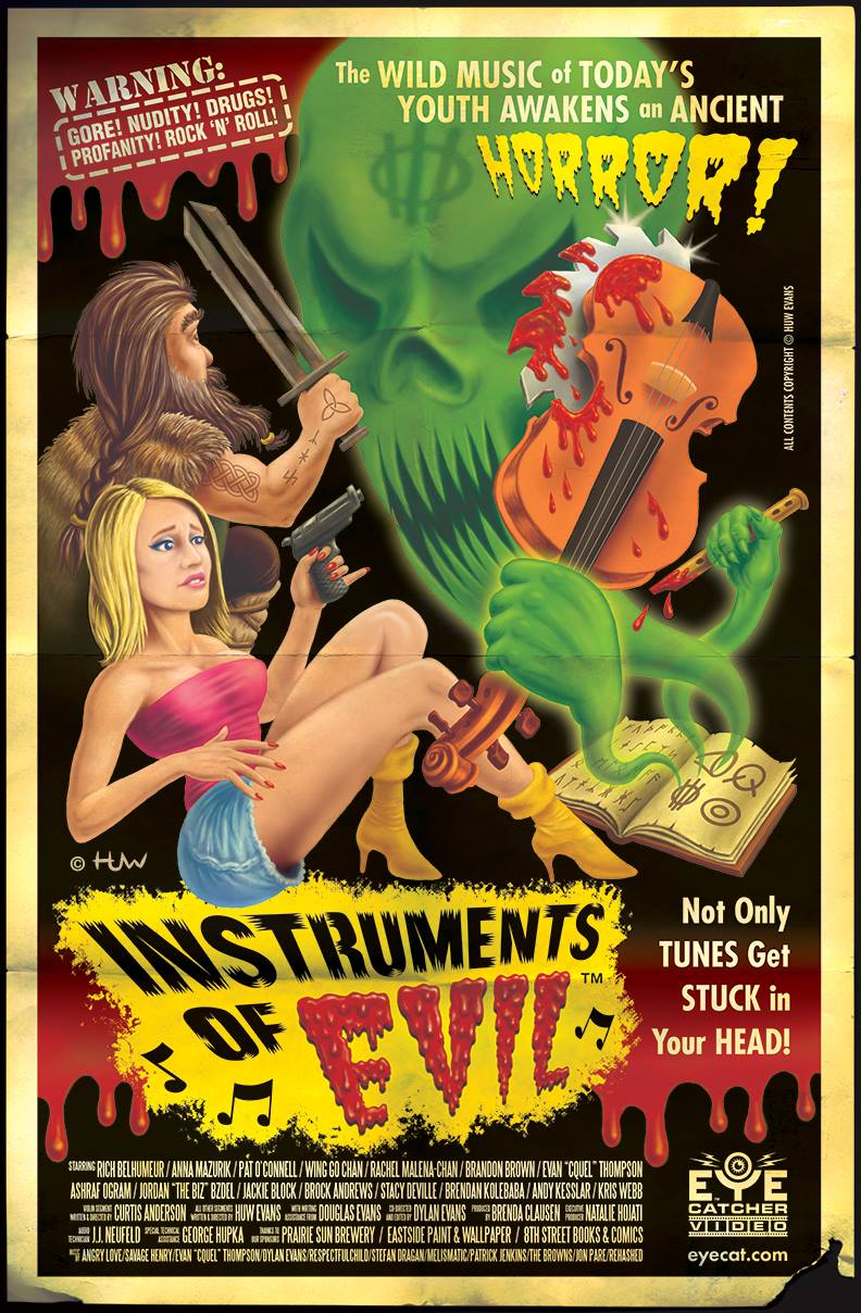 """Instruments of Evil"" Movie Poster"