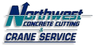 Northwest Concrete Cutting and Crane Service Logo