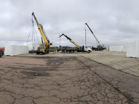 Heavy Lifting Operators: Sioux Falls