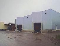 Fin 2011 extension d'un hall de stockage