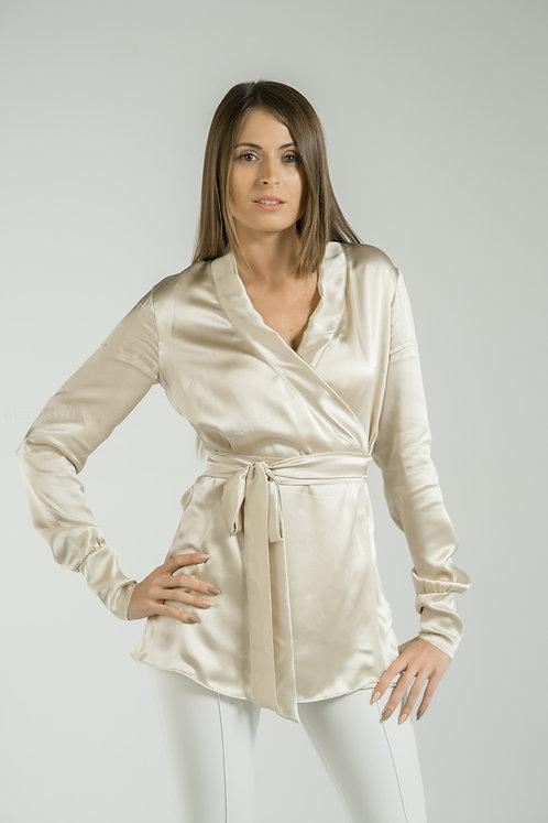 Блуза из натурального шёлка