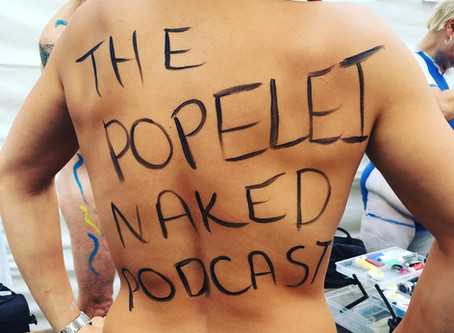 Talking about The World Naked Bike Ride — London and Bristol